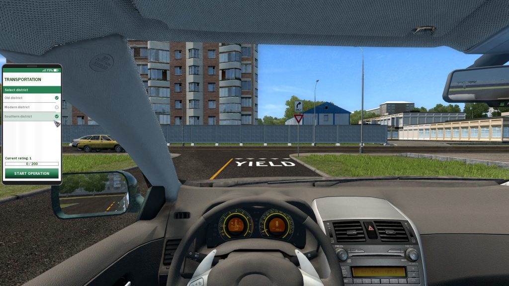 1546590813 166 city car driving pc game download torrent - City Car Driving PC Game - Download Torrent
